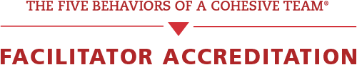 Five Behaviors Facilitator Accreditation